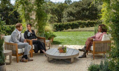 Принц Гарри и Меган Маркл дали интервью Опре Уинфри