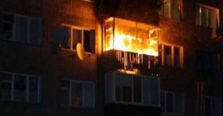 В Мариуполе горела квартира, внутри которой находился человек. Новости Мариуполя и Донбасса |