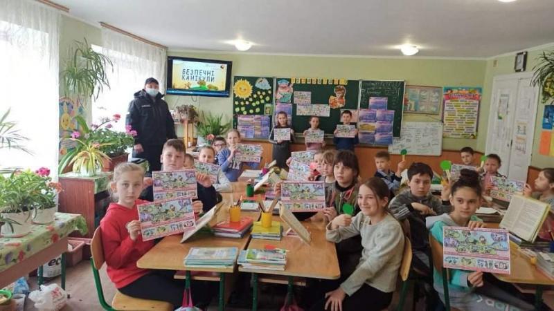 Літинські рятувальники провели роз'яснювальну роботу серед дітей — | Новини Вінниці та області