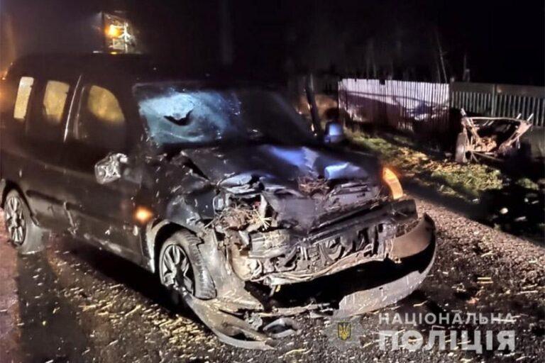 На Хмельниччині легковик під кермуванням молодика врізався у підводу, є поранені | Криминальные новости Украины