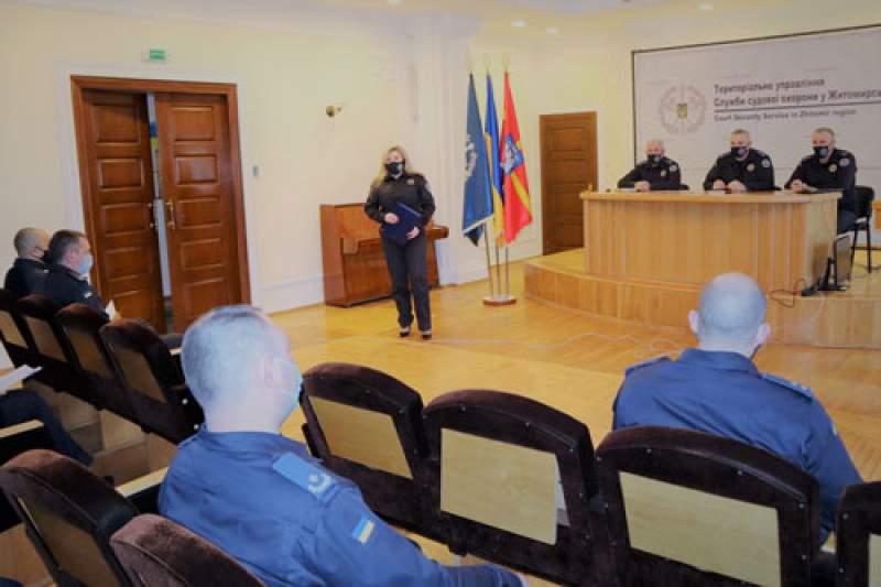 За місяць до судів Житомирської області не допустили пронесення більше 200 заборонених предметів