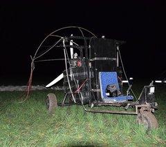 В Черновицкой области задержали летательный аппарат контрабандистов, преступникам удалось сбежать