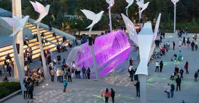 Проект освещения мариупольской площади Свободы отмечен наградой во всемирном конкурсе. Новости Мариуполя и Донбасса |