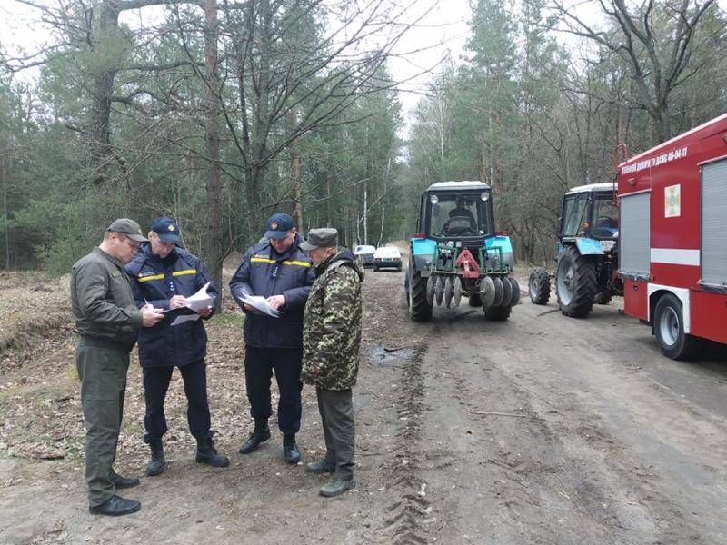 У Вінницькому районі відбулися навчання з ліквідації пожеж у лісових масивах (ВІДЕО) — | Новини Вінниці та області