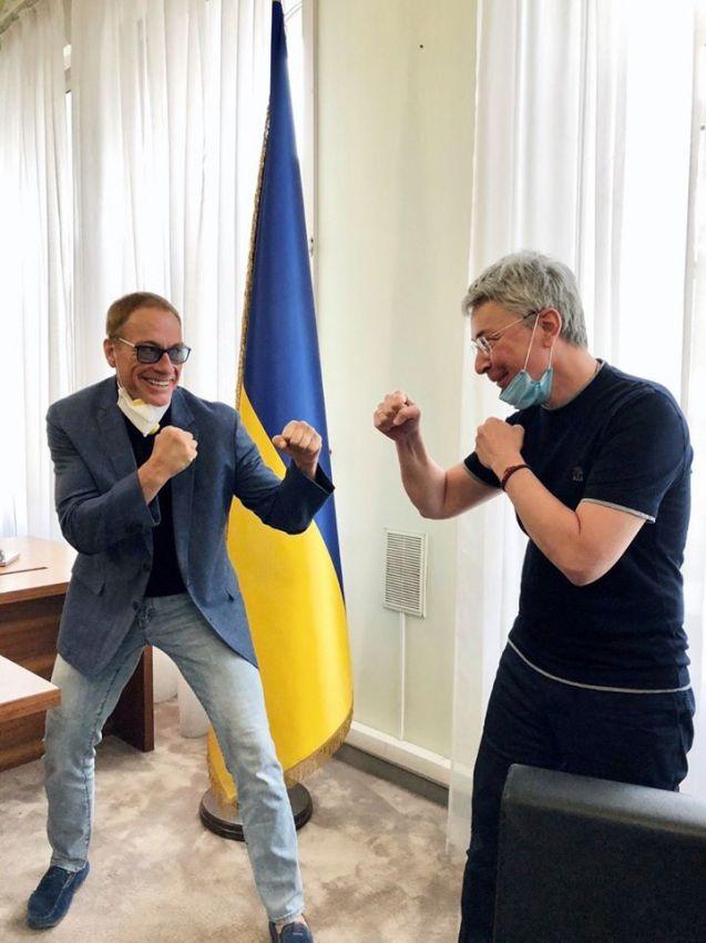 Фильм с Ван Даммом, снятый в Киеве, покажут в августе 2021-го