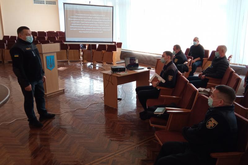 Чернівецький район: рятувальники обговорили питання цивільного захисту з головами ОТГ —   Новини Буковини