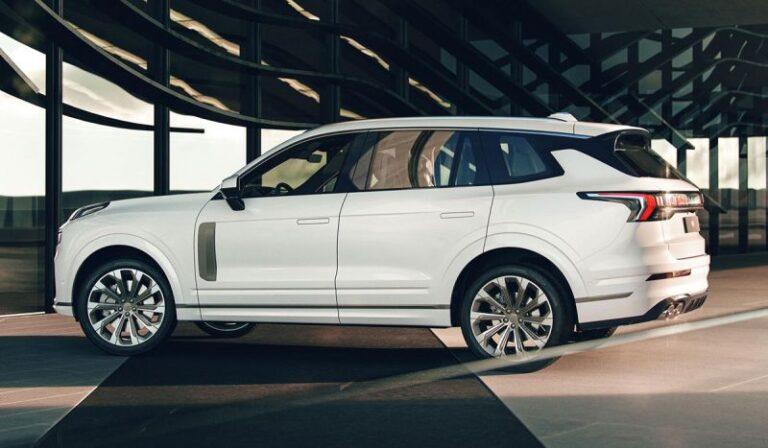 Китайский кроссовер Lynk & Co 09 породнится с Volvo XC90 » Автоновости
