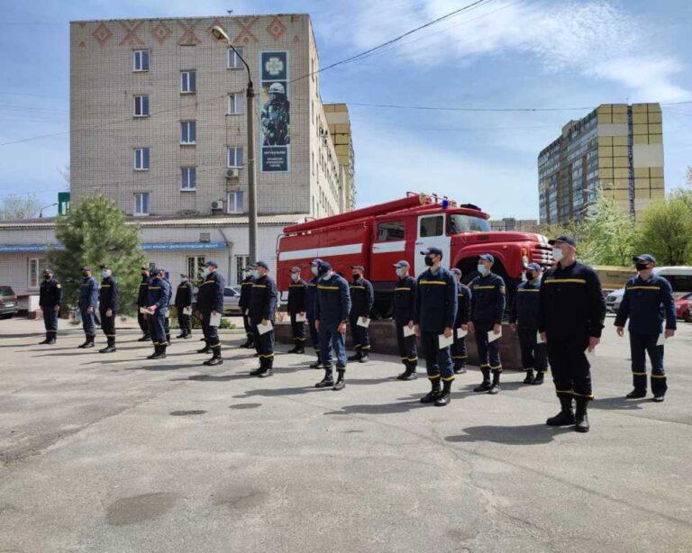 У навчальному пункті відбувся випуск командирів відділення оперативно-рятувальної служби цивільного захисту –  Новини міста Дніпро та Дніпропетровської області