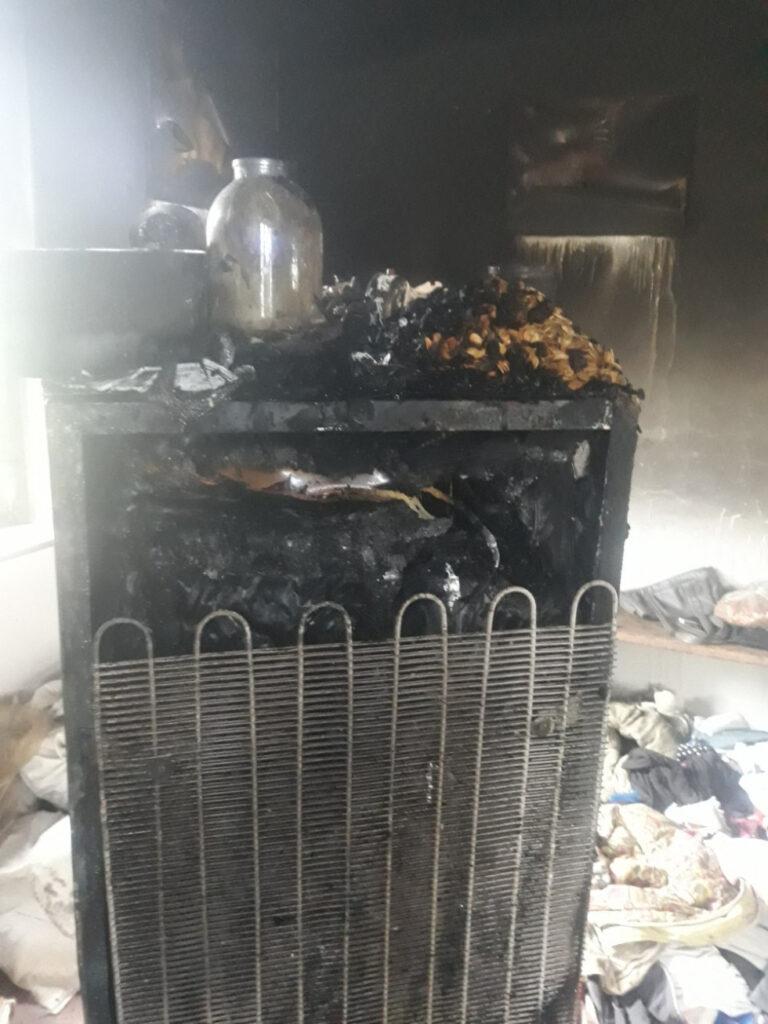 На Горохівщині згорів будинок – Новини Волині