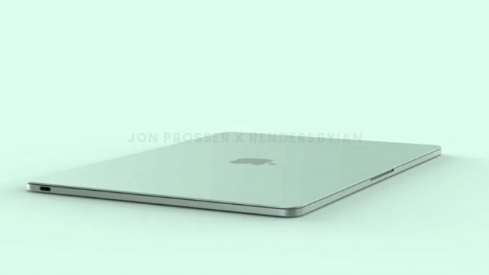Показали MacBook Air 2021 в яскравих кольорах на якісних рендерах |