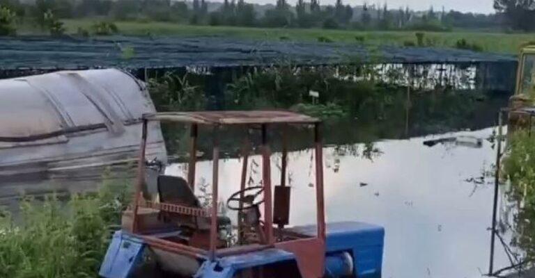 В Мариуполе из-за паводка затоплены зоопарк, дома, движение ограничено. Новости Мариуполя и Донбасса |