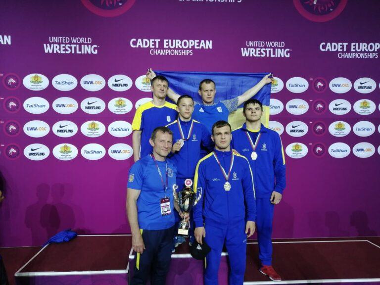 Краматорские борцы завоевали медали на чемпионате Европы