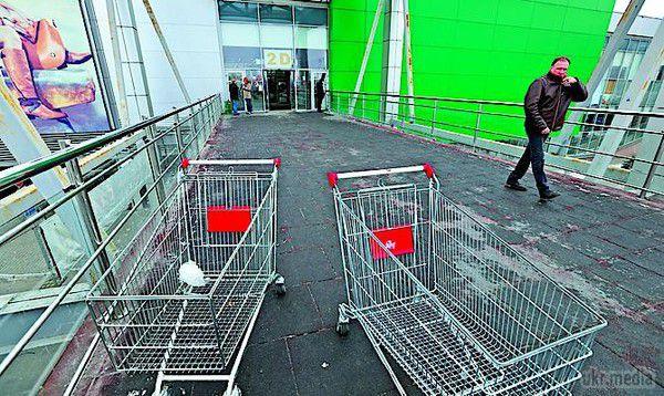 Через зростання цін українці все частіше виходять з магазину з порожніми візками