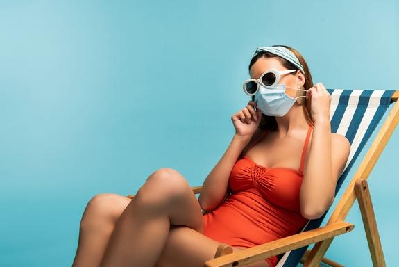 Правила использования защитных масок в летнее время