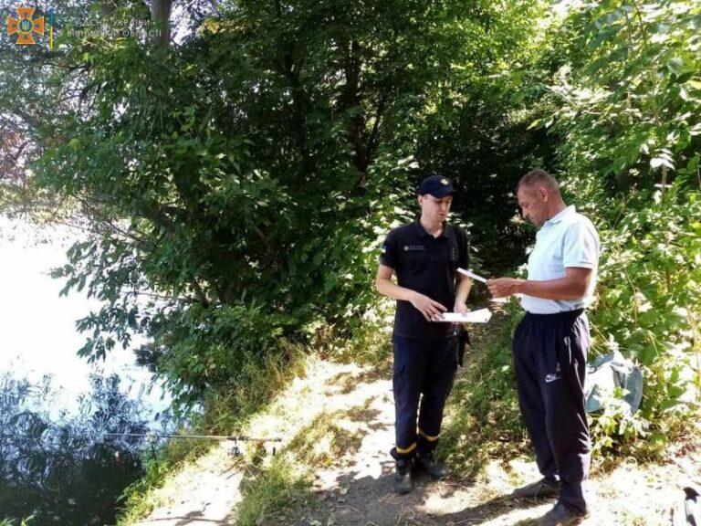 Рятувальники провели профілактичну роботу з відпочиваючими поблизу водойм – | Новини Вінниці та області