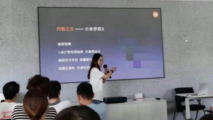 У Xiaomi Mi Band X весь корпус буде суцільним екраном  