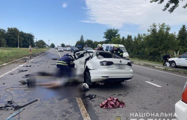 На Черкащині у ДТП загинув закарпатський поліціянт із сім'єю
