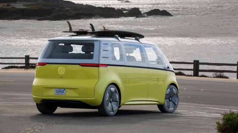 У Volkswagen ID. Buzz будет 3 версии » Автоновости