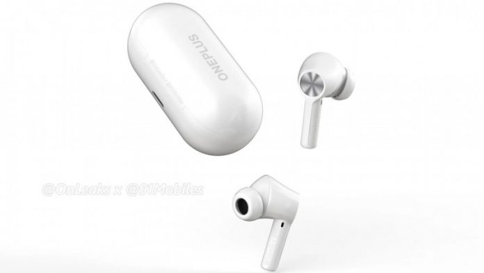 Рендери навушників OnePlus Buds Z2 витекли в мережу  