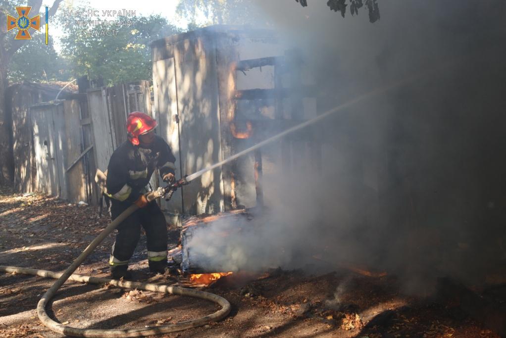 Минулої доби рятувальники 4 рази залучались до ліквідації пожеж — Новини Чернігова та області