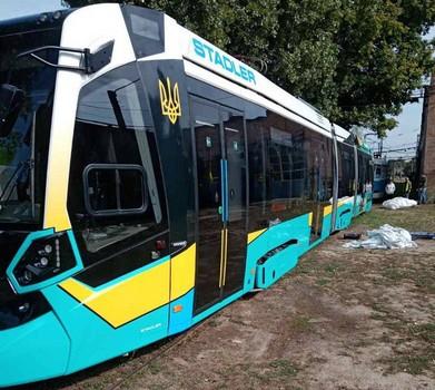 В Харьков прибыл новый трамвай — Новости Харькова
