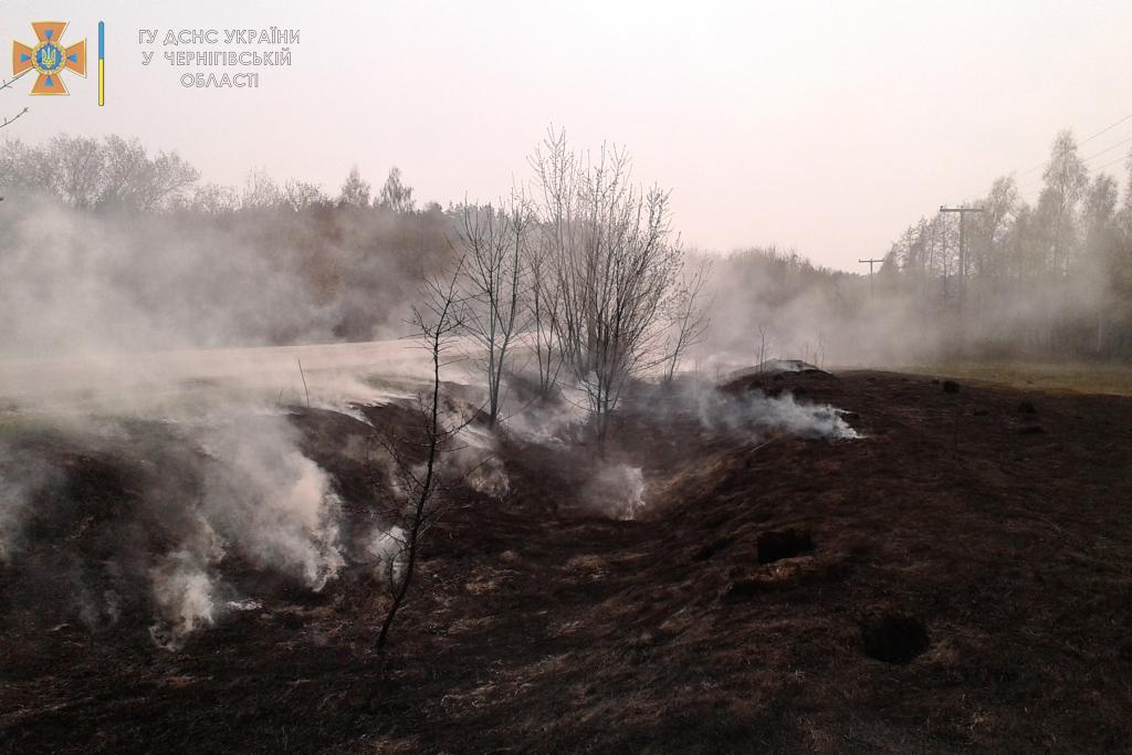 На Чернігівщині упродовж минулої доби вогнеборці ліквідували 3 пожежі — Новини Чернігова та області