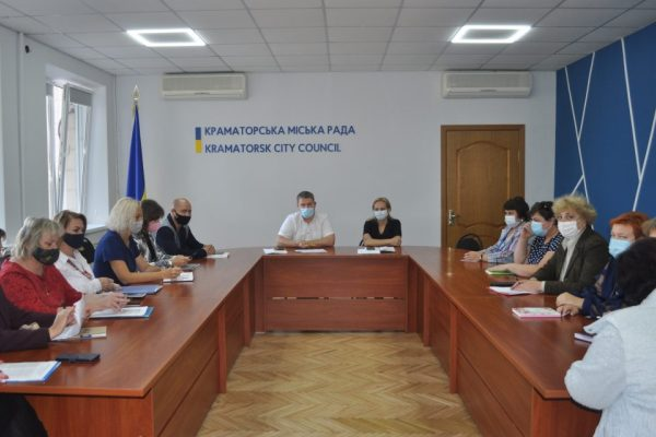 В Краматорске в одной школе вакцинировано 80% сотрудников