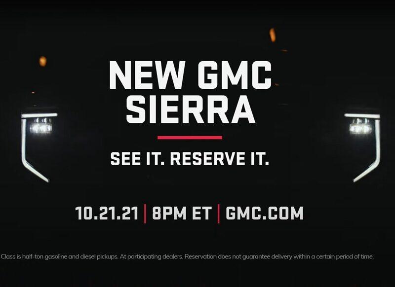 GMC готовится к презентации обновлённого пикапа Sierra: модели поправят внешность — АВТО НОВОСТИ