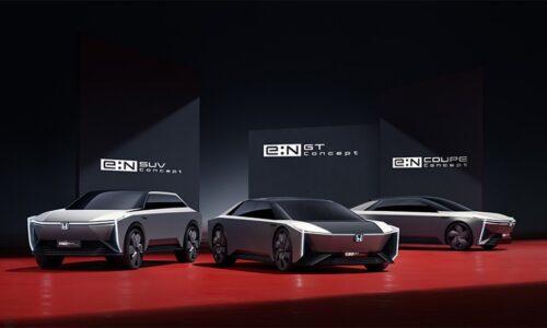 Honda показала новый стиль своих электромобилей и «плоскую» платформу для них — АВТО НОВОСТИ