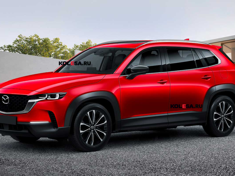 Mazda готовит новый кроссовер: первое изображение CX-60 — АВТО НОВОСТИ