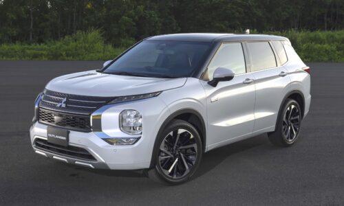 Новый гибридный кроссовер: в Mitsubishi рассекретили внешность Outlander PHEV — АВТО НОВОСТИ