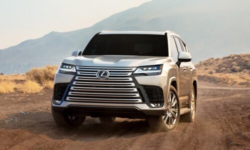 Новый Lexus LX: больше экранов, камеры для бездорожья и роскошная VIP-версия — АВТО НОВОСТИ