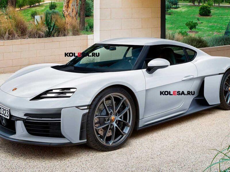 Porsche готовит преемника 718 Cayman, который перейдёт на электротягу: первое изображение — АВТО НОВОСТИ